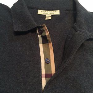 Burberry London Rugby Polo Shirt Embroidered Logo